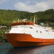 Commuter transport ferry bequia st. vincent — 图库照片