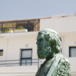 Stock Photo: Hermes statue Ios cyclades Greek island