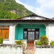 Typical house Soufriere St. Lucia — Photo