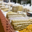 Stock Photo: Candy and fruits nuts local to cyprus
