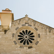 Church sainte marie-majeure bonifacio — Stock Photo