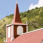 Church architecture Saba Dutch Netherlands — Stock Photo #23059432