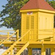 Lifeguard station Dover Beach St. Lawrence Gap Barbados — Stock Photo #23059610
