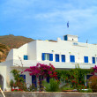 Greek Cyclades island Ios typical architecture — Stock Photo