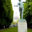 Statue luxembourg gardens paris france - Stock Photo