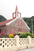 Wesleyan Holiness Church Saba Dutch Netherlands Antilles — Stock Photo