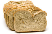 Loaf of onion rye bread — Stock Photo