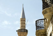 Mosque minaret in Limasol Cyprus — Stock Photo
