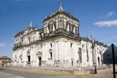 Cathedral of Leon Nicaragua — Stock Photo