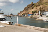 Fort Bay Harbor The Bottom Saba Dutch Netherlands Antilles — Stock Photo