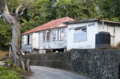 Typical caribbean residence st. vincent and the grenadines — Stock Photo