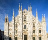 De duomo milaan italië — Stockfoto