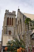 The sacred heart church port of spain trinidad — Stock Photo
