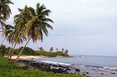 空加勒比海滩玉米岛尼加拉瓜 — 图库照片