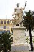 Statue Napoleon Bonaparte Bastia Corsica — Stock Photo
