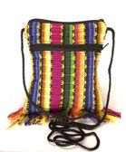 Shoulder bag change purse made in Nicaragua — Stock Photo