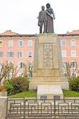 Monument to war dead Bastia Corsica — Stock Photo