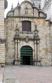 Iglesia de san francisco Kilisesi, san francisco cartagena de Indias Kolombiya — Stok fotoğraf