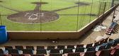 Baseball stadium Corn Island Nicaragua — Stock Photo