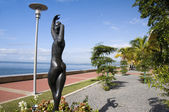 Waterfront development program port of spain trinidad — Stock Photo