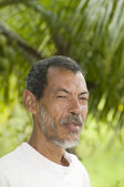 Native Nicaraguan man portrait Corn Island Nicaragua — Stockfoto