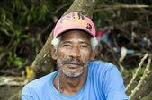 Native man portrain nicaragua — Photo