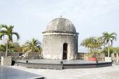 Sentry box lookout Cartagena de Indias Colombia South America — Stock Photo