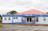 Police station Oranjestad St. Eustatius Netherlands Antilles — Stock Photo