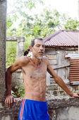 Maïs portrait homme nicaraguayenne native island nicaragua — Photo