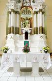 格拉纳达-尼加拉瓜教会详细雕塑大教堂 — 图库照片