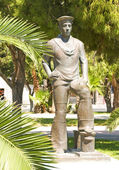 Sailor monument limassol Cyprus — Stock Photo