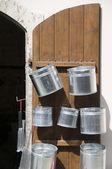Pots for sale lefkosia cyprus — Stock Photo