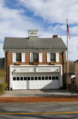 Fire department building Bedford New York — Stock Photo