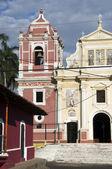 El Calvario Church Leon Nicaragua — Stock Photo