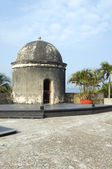 Sentry box lookout The Wall Cartagena Colombia South America — Stock Photo