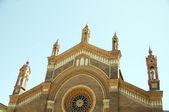 Cathedral santa maria del carmine Milan Italy — Stock Photo