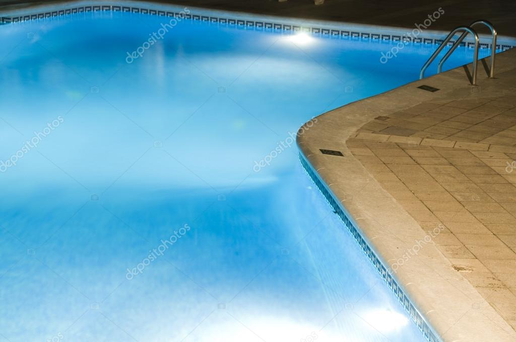 Hotel Large Swimming Pool With Night Lights Stock Photo Rjlerich 23059350