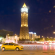 Clock Tower ave Habib BourguibVille Nouvelle Tunis TunisiAfrica — Stock Photo #23084990