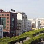 Avenue Habib Bourguiba, Tunis, Tunisia — Stock Photo #23085306