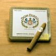 Don Diego cigars metal box — Stock Photo