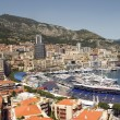 Постер, плакат: Editorial view of port harbor Monte Carlo Monaco