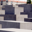 The Memorial to the Murdered Jews of Europe Berlin Germany — Stock Photo