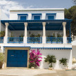 Typical white Tunisian architecture Tunisia Africa Sidi Bou Said - Stock Photo