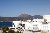 Adamas town Milos Greek Island Cyclades Greece — Stock Photo