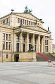 Concert Hall Konzerthaus in The Gendarmenmarkt Berlin Germany — Stock Photo