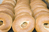 Fresh Israeli bagel bread photographed in Jerusalem Israel — Stock Photo