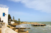 Mediterranean Sea Beach Carthage Tunisia Africa — Stock Photo