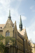 Unitarius Templom Unitarian Church Budapest Hungary — Stock Photo