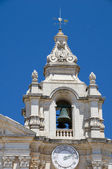 Detail st. paul's cathedral mdina malta — Stock Photo