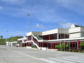 Maurice Bishop International airport St. George's Grenada — Stock fotografie